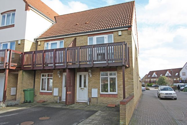 Thumbnail End terrace house to rent in Tintagel Way, Port Solent, Portsmouth