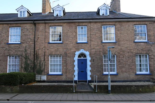 Thumbnail Flat to rent in St. Paul Street, Tiverton