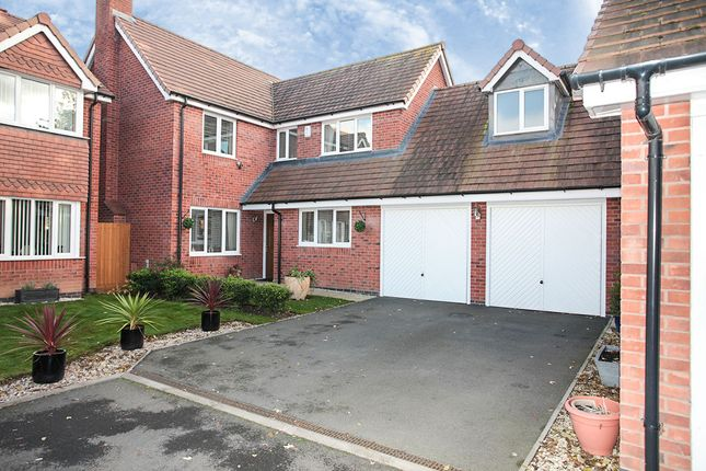 Thumbnail Detached house for sale in Lionel Close, Nuneaton, Warwickshire