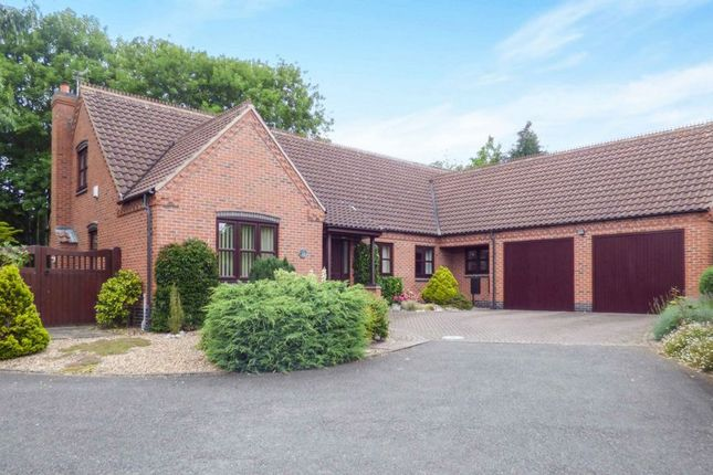 Thumbnail Detached bungalow for sale in Cottage Gardens Close, Hathern