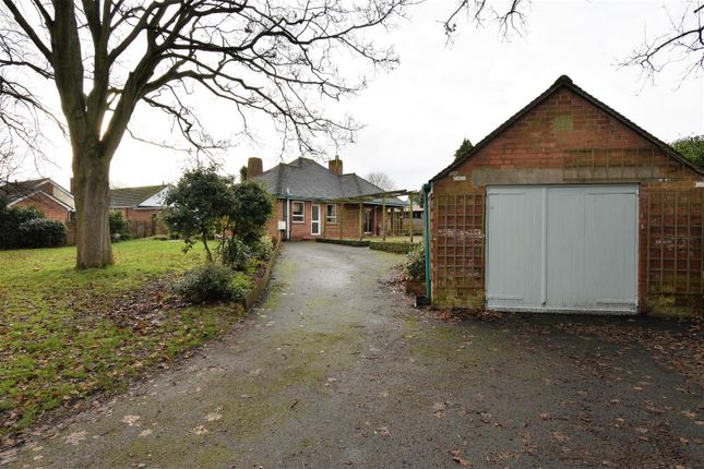 Thumbnail Detached bungalow for sale in Three Elms Road, Hereford