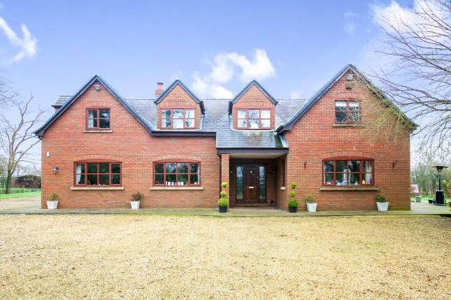 Thumbnail Detached house for sale in Saundersfield, Occleston, Cheshire