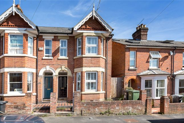 Thumbnail End terrace house to rent in Fairfield Road, Winchester, Hampshire
