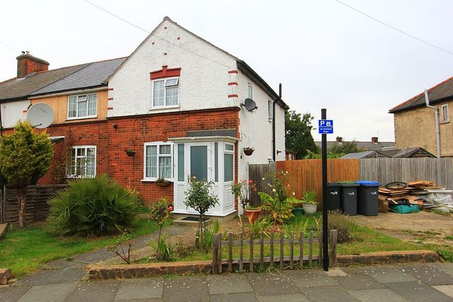 Thumbnail End terrace house for sale in Central Avenue, Enfield, London