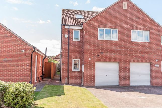 Thumbnail Semi-detached house for sale in Westerdale Road, Scawsby, Doncaster