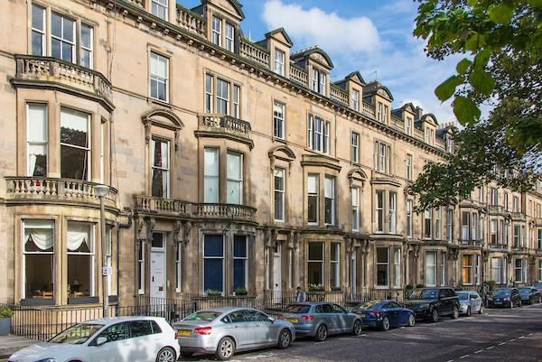 Thumbnail Flat for sale in Learmonth Terrace, Edinburgh