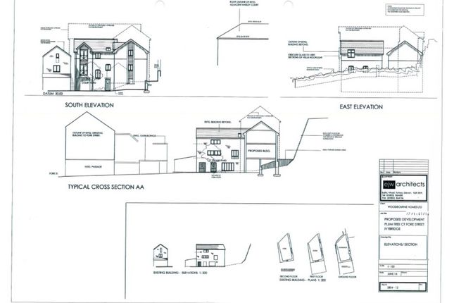Thumbnail Land for sale in Hartley Court, Fore Street, Ivybridge