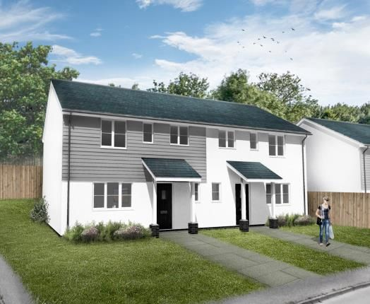 Thumbnail Semi-detached house for sale in Bugle, St. Austell, Cornwall