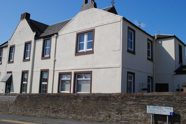 Thumbnail Flat to rent in 2 Dale Court, Brechin Road, Arbroath