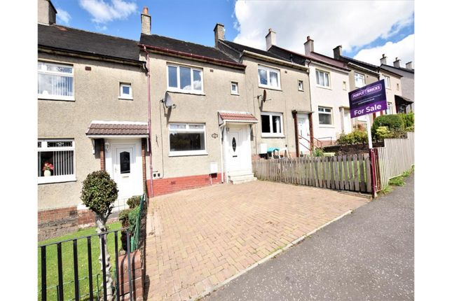 Thumbnail Terraced house for sale in Park Road, Airdrie