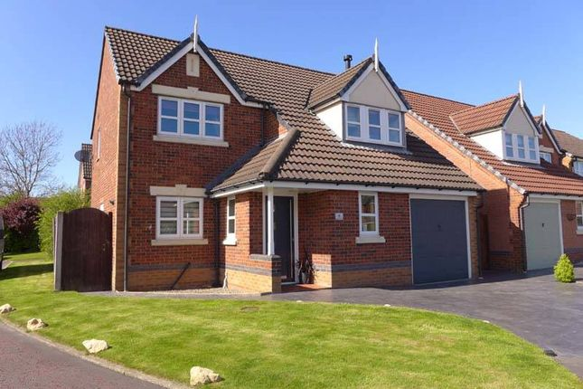 Thumbnail Detached house for sale in Criccieth Place, Thornton-Cleveleys