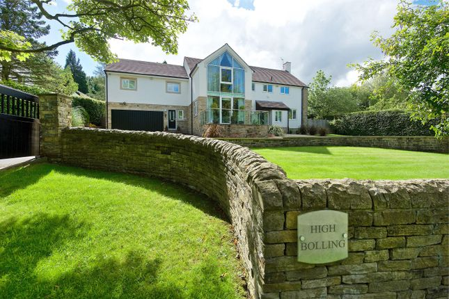 Thumbnail Detached house for sale in Ben Rhydding Drive, Ilkley