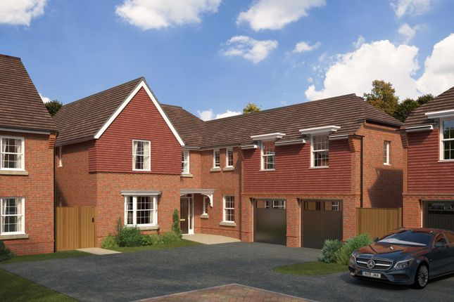 "Thumbnail Detached house for sale in ""Arbury"" at St. Lukes Road, Doseley, Telford"