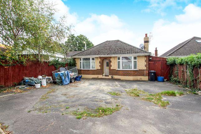 Thumbnail Detached bungalow for sale in Wimborne Road West, Wimborne