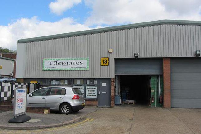 Thumbnail Light industrial to let in Unit 13 Bourne Industrial Park, Bourne Road, Crayford, Dartford, Kent