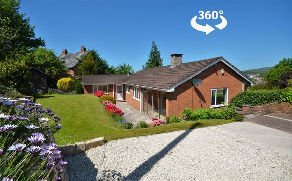 Thumbnail Detached bungalow for sale in Canal Hill, Tiverton