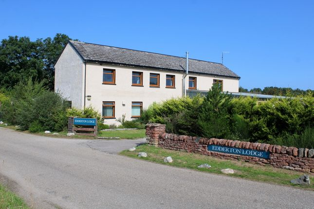 Thumbnail Hotel/guest house for sale in Edderton Lodge Guest House, By Tain, Ross-Shire