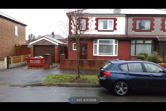 Thumbnail Semi-detached house to rent in Queens Avenue, Warrington