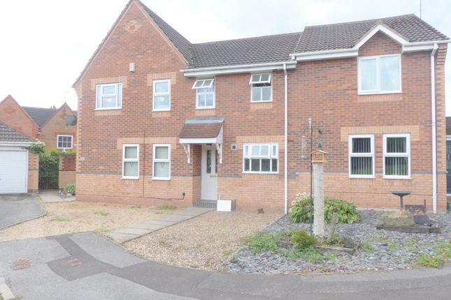 Thumbnail Town house to rent in Bythorn Close, Skegby, Sutton In Ashfield