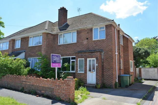 Thumbnail Semi-detached house for sale in Blighmont Crescent, Southampton