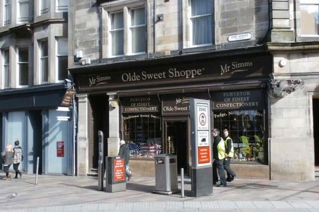 Retail premises to let in 57-59 Port Street, Stirling