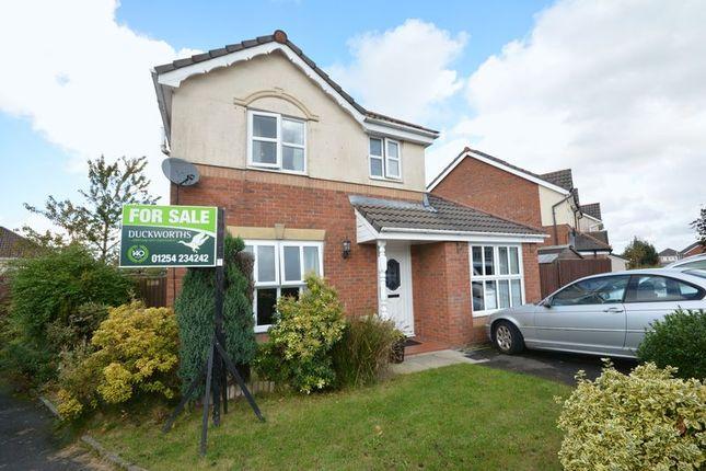 Thumbnail Detached house for sale in Pilkington Drive, Clayton Le Moors, Accrington
