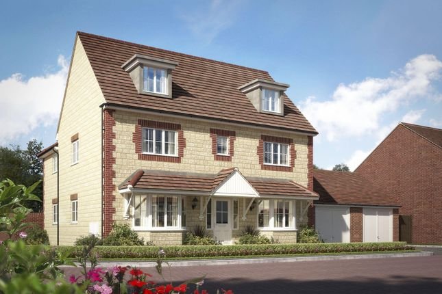 """Thumbnail Detached house for sale in """"Stratford"""" at High Street, Watchfield, Swindon"""