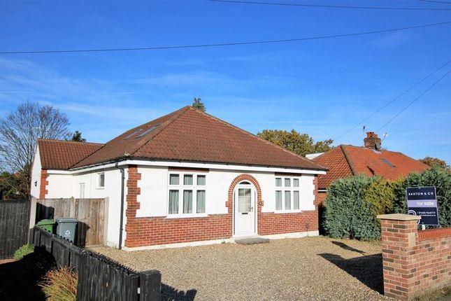 Thumbnail Bungalow for sale in Hastings Avenue, Hellesdon, Norwich
