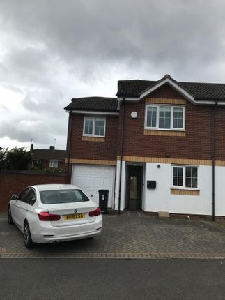 Thumbnail Semi-detached house to rent in Milestone Croft, Halesowen