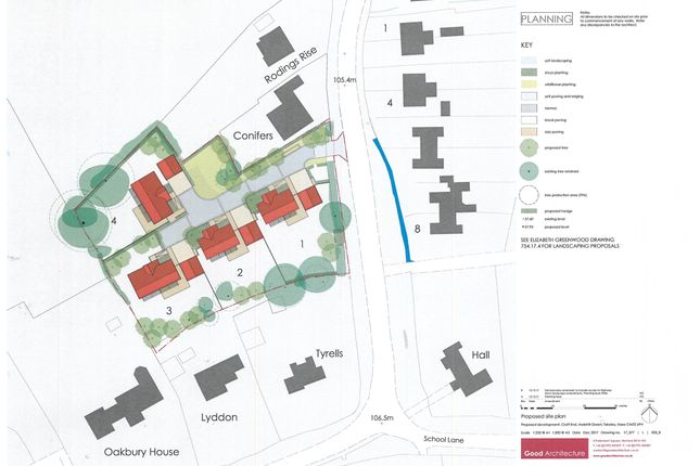 Thumbnail Land for sale in Mole Hill Green, Takeley, Bishop's Stortford