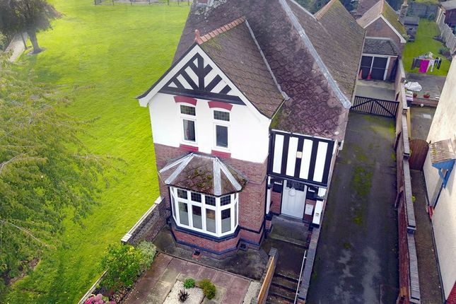 Thumbnail Detached house for sale in Wrekin Road, Wellington, Telford, Shropshire