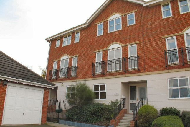 Thumbnail Town house for sale in Howard Close, Haverhill