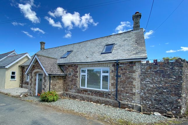 Thumbnail End terrace house for sale in Week St. Mary, Holsworthy
