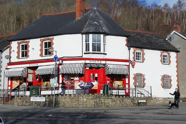 Thumbnail Retail premises for sale in High Street, Glyn Ceiriog