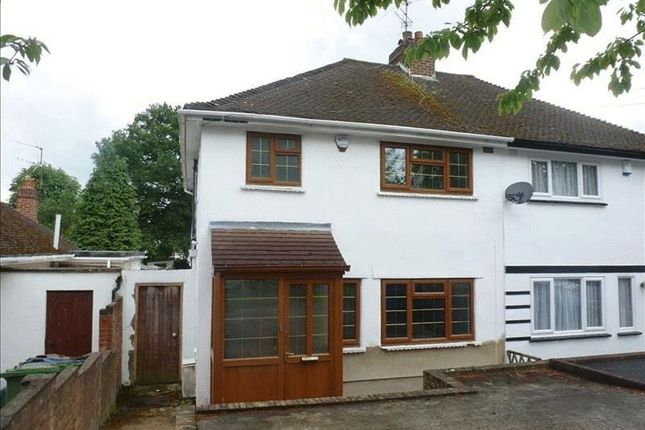 Thumbnail Semi-detached house to rent in Weald Rise, Harrow Weald, Harrow