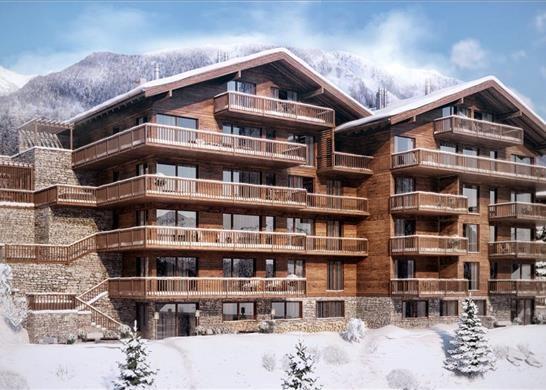 Thumbnail Apartment for sale in Route Des Rahas, 3961 Grimentz, Switzerland