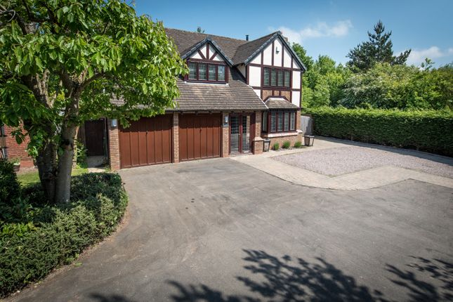 Thumbnail Detached house for sale in Saintbury Drive, Solihull