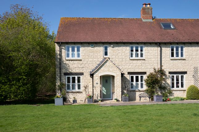 Thumbnail Semi-detached house for sale in Birch Drive, Bradwell Village, Burford