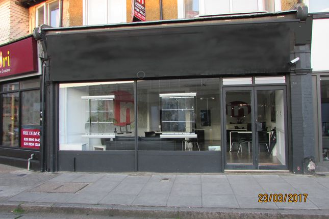Thumbnail Retail premises to let in Station Road, London