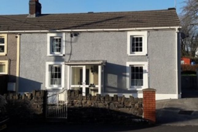 Thumbnail End terrace house for sale in Cwmgarw Road, Upper Brynamman, Ammanford, Carmarthenshire.