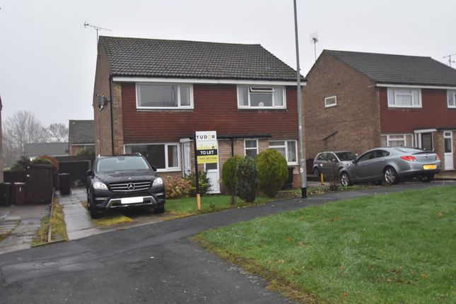 Thumbnail Semi-detached house to rent in Chepstow Close, Garforth, Leeds