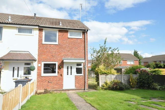 End terrace house for sale in Oak Close, Uttoxeter