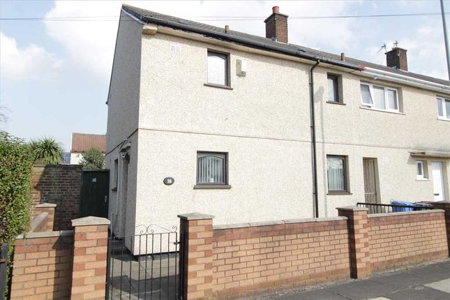 Thumbnail End terrace house for sale in Mottram Close, Kirkby, Liverpool