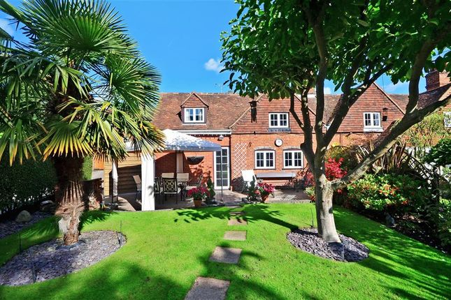 Thumbnail End terrace house for sale in Addington Green, Addington, West Malling, Kent