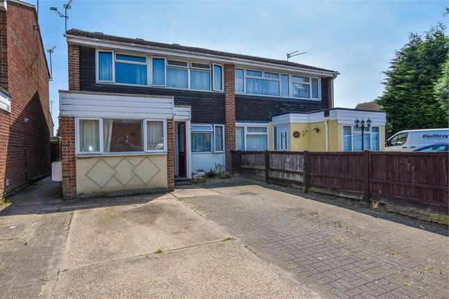 Thumbnail Semi-detached house for sale in Onslow Crescent, Colchester, Essex