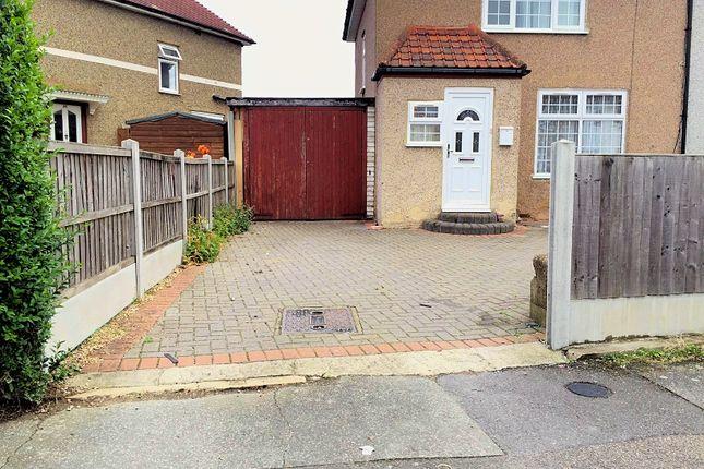 Thumbnail Semi-detached house to rent in Pasture Road, Dagenham