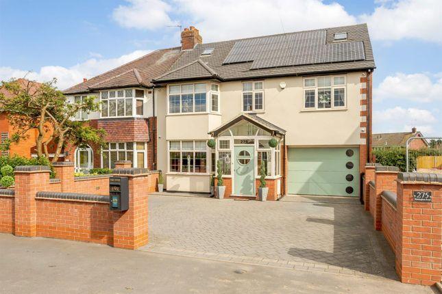 Thumbnail Semi-detached house for sale in Birmingham Road, Ansley, Nuneaton, Warwickshire