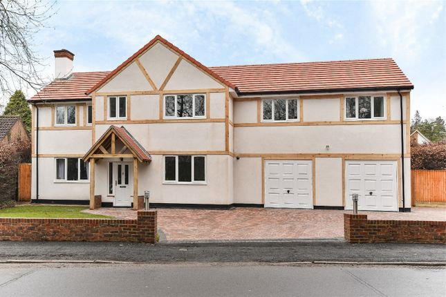 Thumbnail Detached house to rent in Lime Avenue, Camberley, Surrey