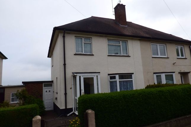Thumbnail Semi-detached house for sale in Gloucester Crescent, Northampton