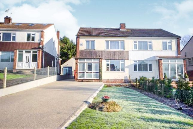 Thumbnail Semi-detached house for sale in Grove Avenue, Coombe Dingle, Bristol